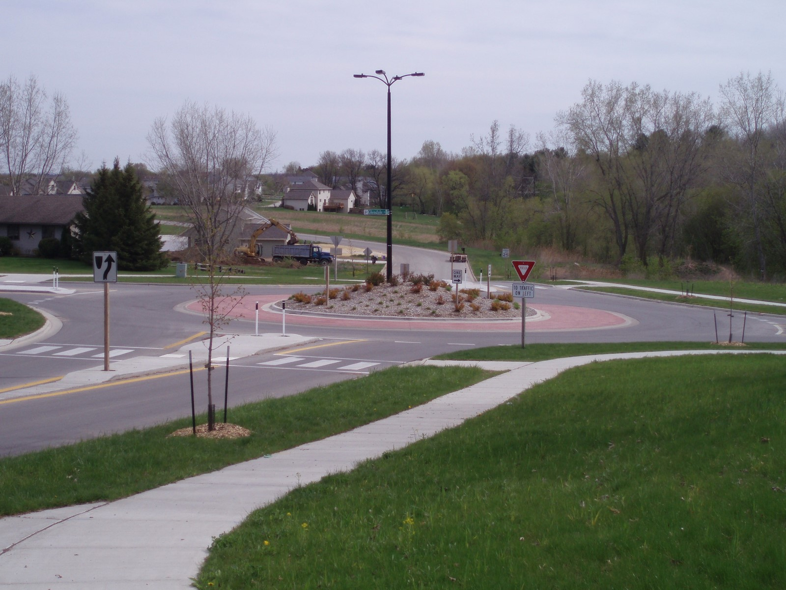Lineville road roundabout study